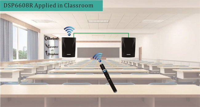 DSP6608R Series Applied in Classrooms