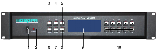 PA System Digital AM/FM Tuner